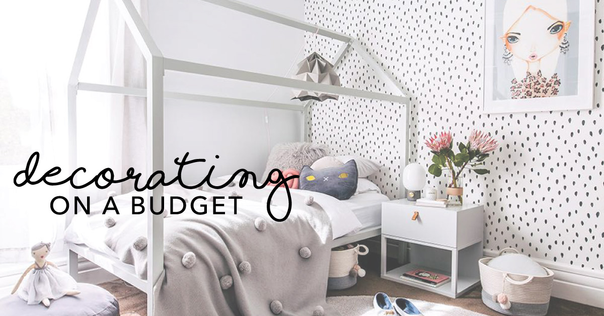 Re Decorating Kids Rooms On A Budget