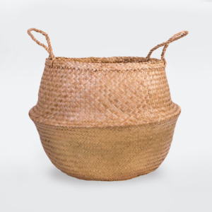 Fable Belly Basket - Gold