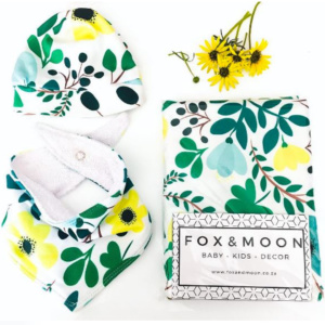 Fox & Moon Green Floral Gift Set