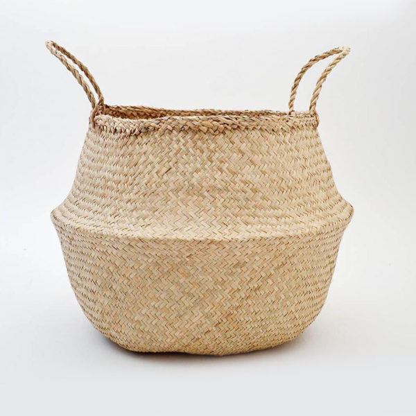 Fable Belly Basket - Natural