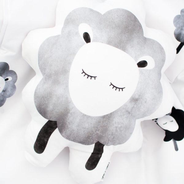 Fox & Moon Sheep Pillow