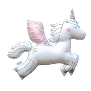 Squiggle & Squeak Metallic Pink Unicorn Scatter