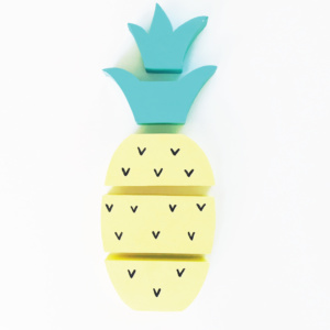 Squiggle & Squeak Pineapple Stacking Wood Toy