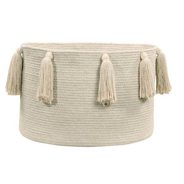Tassel Basket - Natural