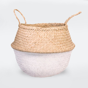 Fable Belly Basket - White
