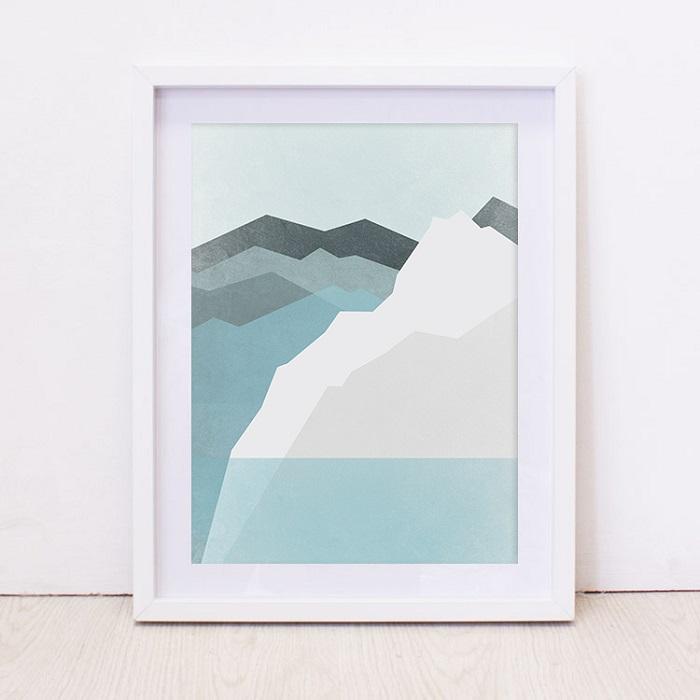 Get the Look - Seafoam Green - Bunni Mountains Art Print