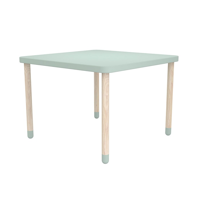 Get the Look - Seafoam Green - Flexa Play Square Table