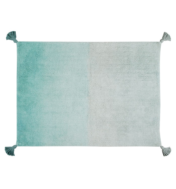 Get the Look - Seafoam Green - Lorena Canals Ombre Rug