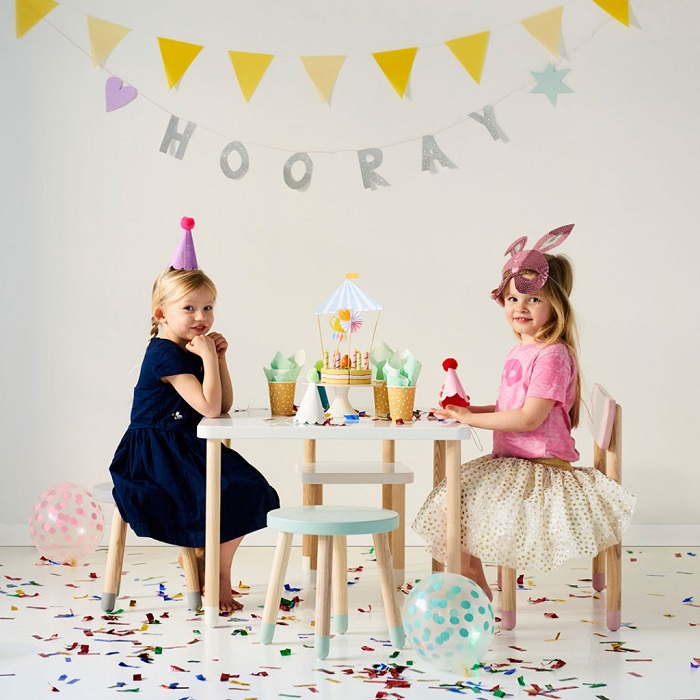 How to Use Kids Side Tables - Tea Parties