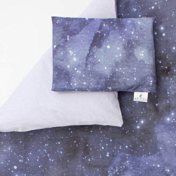 Bunni Blue Celestial Cot Set