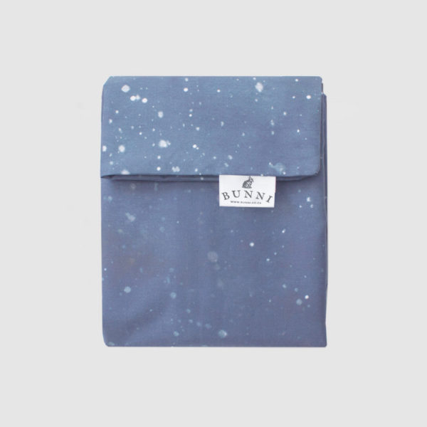 Bunni Blue Celestial Cot Duvet Cover