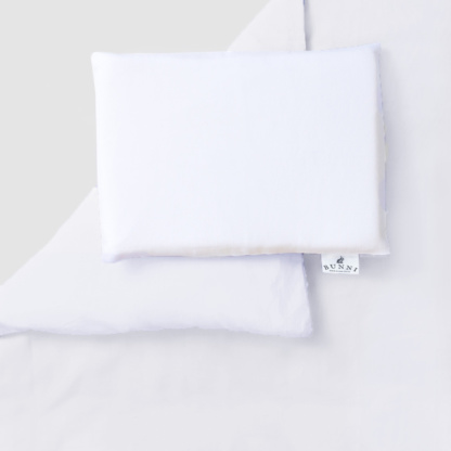 Bunni Pure White Cot Set