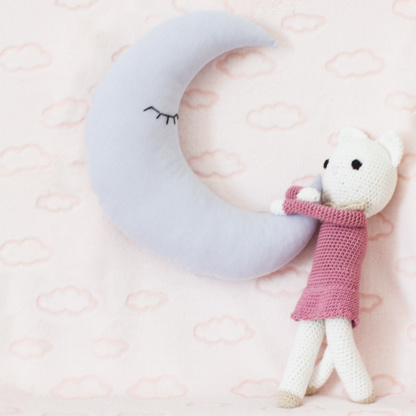 Cathy Cat Doll & Crescent Moon Scatter
