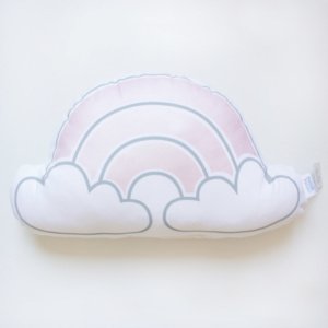 Squiggle & Squeak Metallic Pink Cloud Scatter
