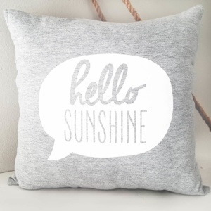 Lola & Peach Hello Sunshine Grey Melange Scatter