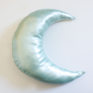 Moo Cachoo Seafoam Crescent Moon Scatter