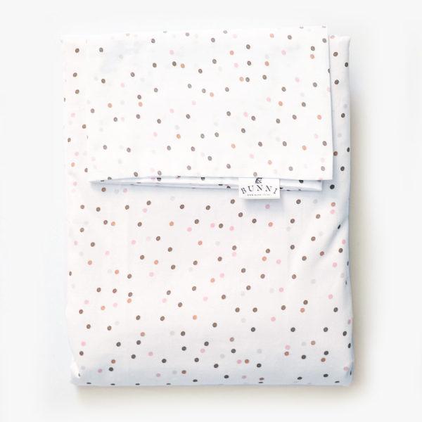 Bunni Pink Wild Dot Duvet Set