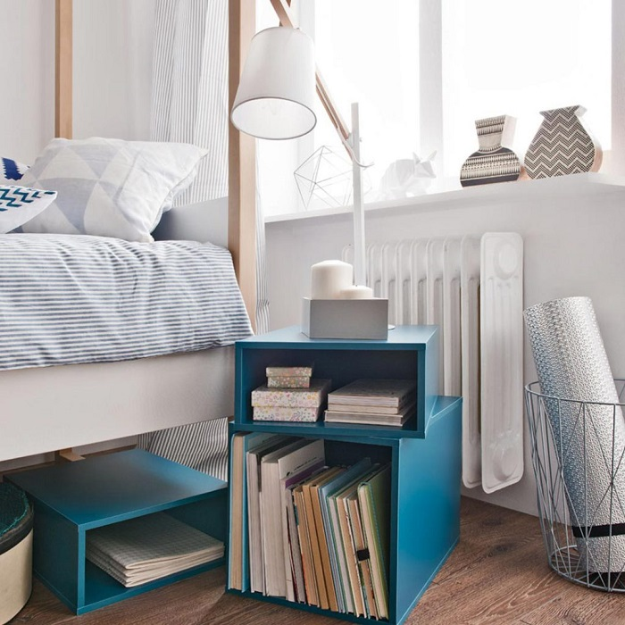 Perfect Pedestals for Your Childs Room - Stacked Storage