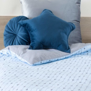 Blue Arrows Duvet Set