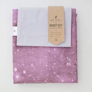 Bunni Pink Celestial Duvet Set
