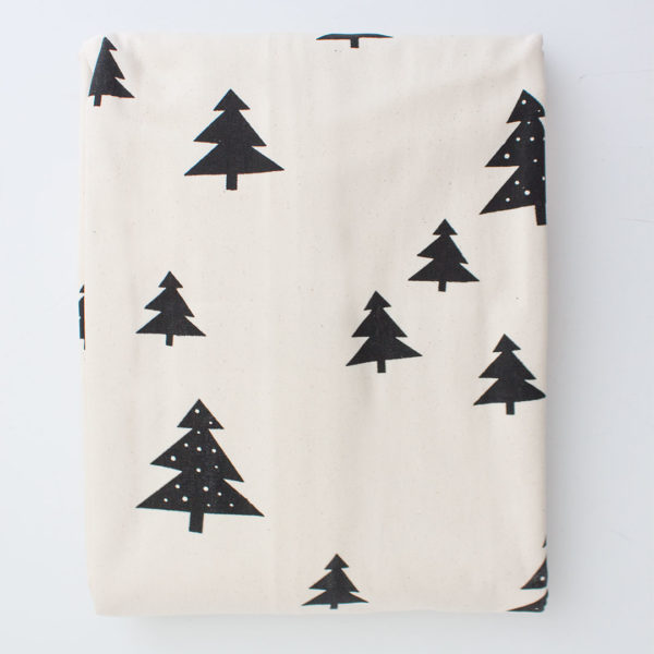 Natural Skandi Pines Duvet Cover