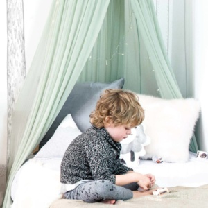 Moo Cachoo Hanging Tent Canopy - Netting - Mint
