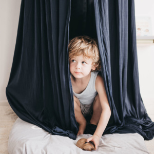 Moo Cachoo Hanging Tent Canopy - Navy