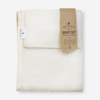 Bunni Natural Ivory Duvet Set