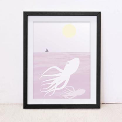 Free Octopus Art Print