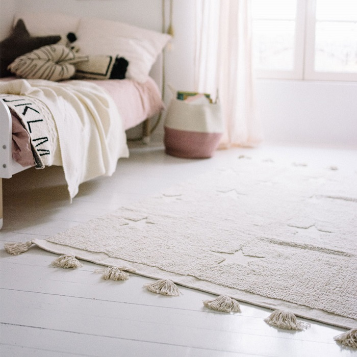 Fall in Love With These Adorable New Lorena Canals Rugs - Hippy Stars