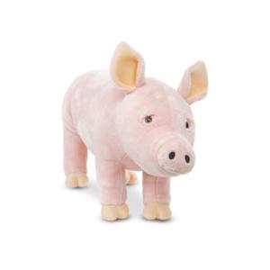 Melissa & Doug Life-Size Plush Pig