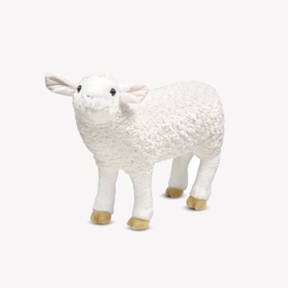 Life-Size Plush Sheep