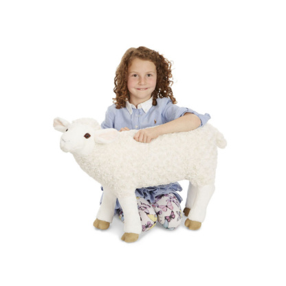Melissa & Doug Life-Size Plush Sheep
