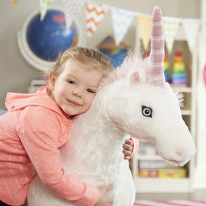 Melissa & Doug Life-Size Plush Unicorn