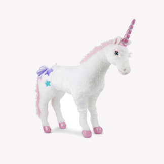 Life-Size Plush Unicorn
