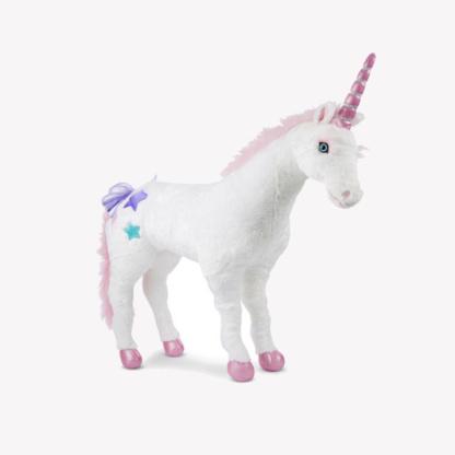Life-Size Plush Unicorn
