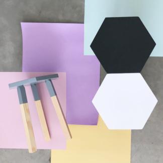 Illumina Hexagon Stools