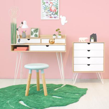 Kika Double Desk & Dresser