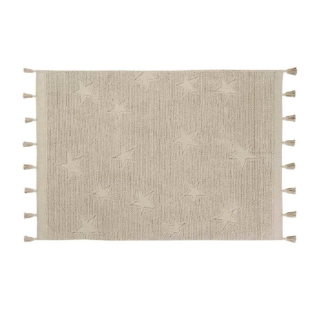 Lorena Canals Hippy Stars Rug - Natural