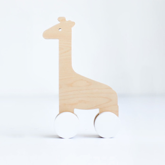 Simply Child Giraffe Push Toy