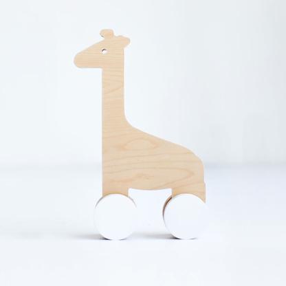 Simply Child Giraffe Push Toy