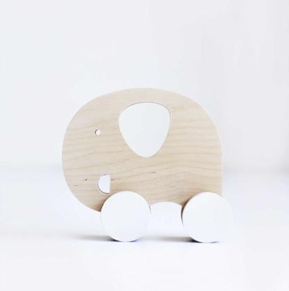 Simply Child Elephant Push Toy