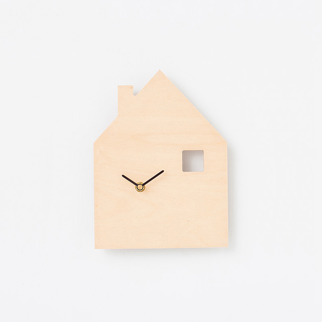 House With Window Wall Clock By Simply Child Clever Little Monkey