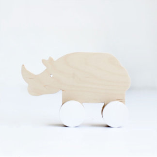Simply Child Rhino Push Toy