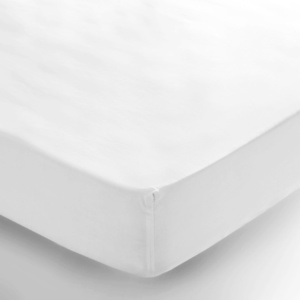 Bunni Fitted Sheet - White