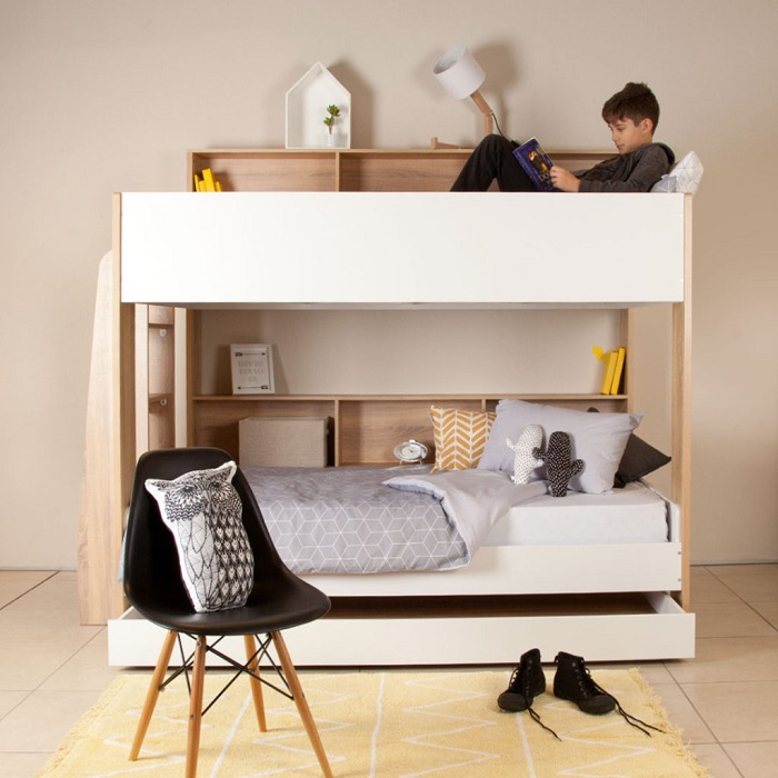 How to Create a Shared Kids Bedroom - Bunk Beds