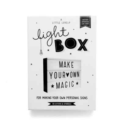 A Little Lovely Company A4 Lightbox - Black