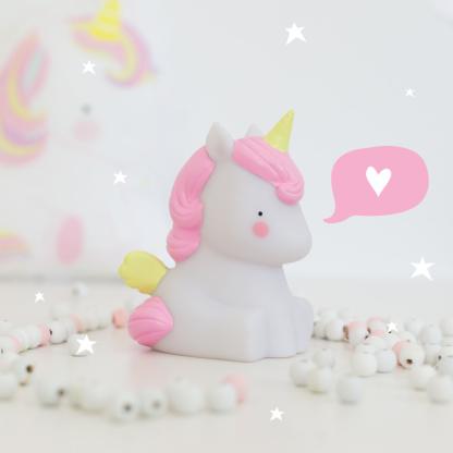 A Little Lovely Company Unicorn Little Light