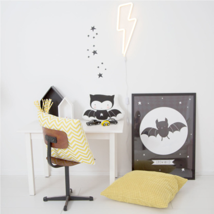 A Little Lovely Company Lightning Neon Style Light - Yellow