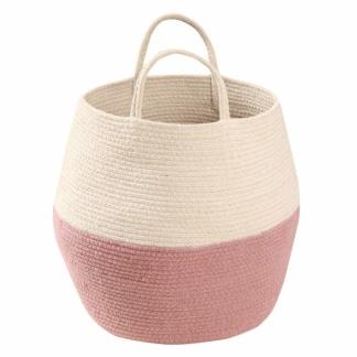 Lorena Canals Zoco Basket - Ash Rose & Natural